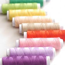 いろんな色の糸